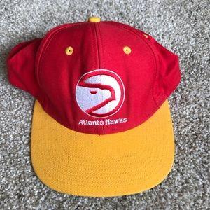 Vintage Adidas Hardwood Classics Atlanta Hawks Hat